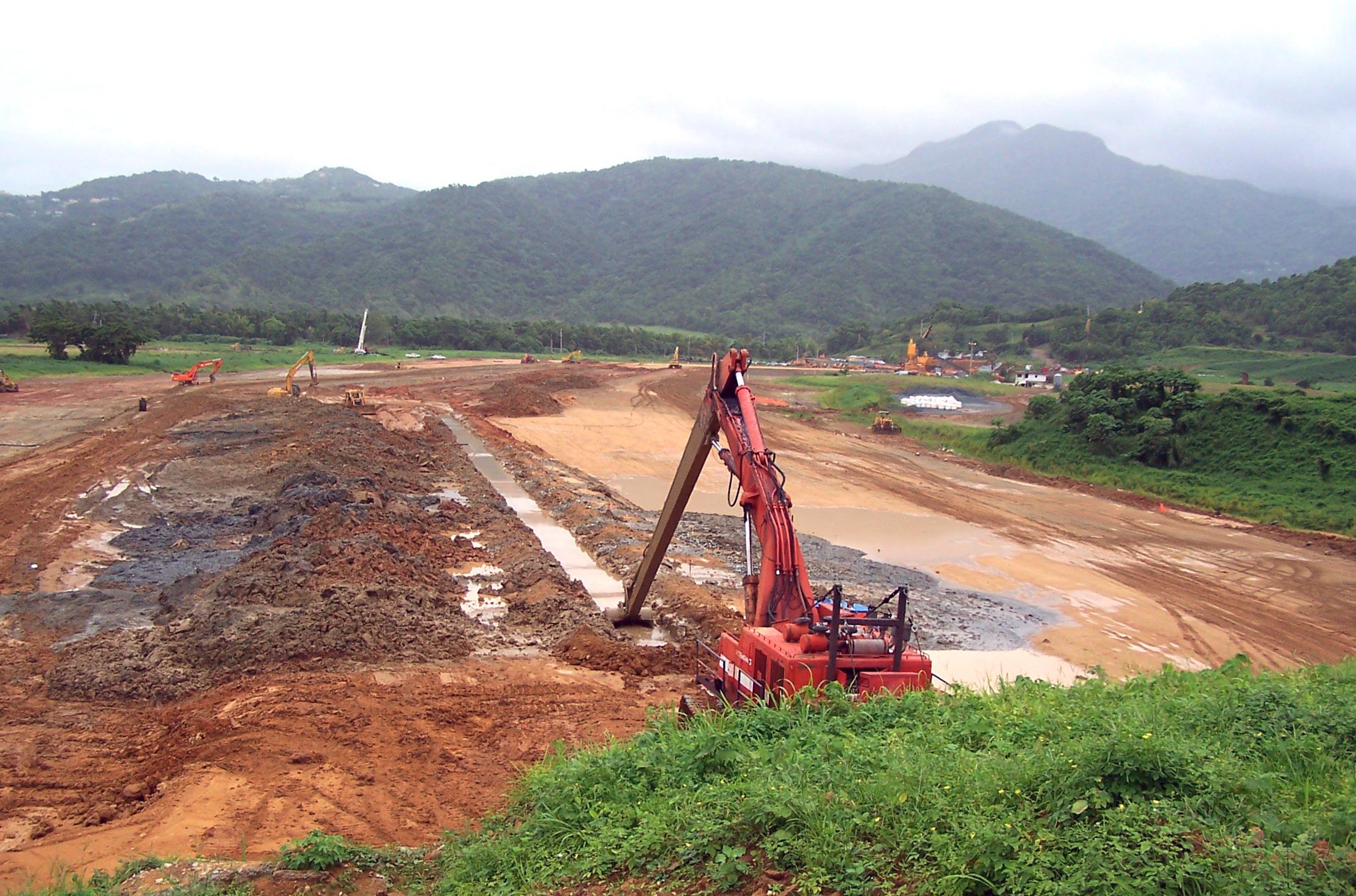 Soil bentonite slurry trench inquip inquip for Soil xat cut off